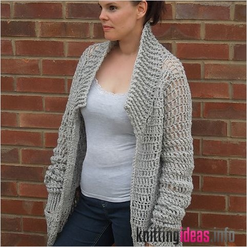 20 Gorgeous Free Crochet Cardigan Patterns For Women Free Knitting