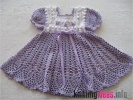 26-gorgeous-crochet-baby-dress-for-babies-260x195