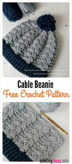 cable-beanie-hat-free-crochet-pattern-252x575