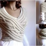 Women-Cable-Knitted-Sweater-Cowl-Vest-9-150x150