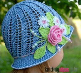 crochet-cloche-hats-the-best-free-collection-264x239