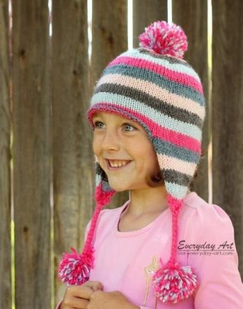 Earflap-Hat-Knitting-Patterns-for-Children-5-349x443