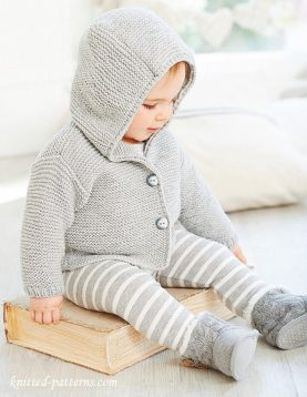 Baby-Hooded-Sweater-Knitting-Pattern-19-277x358