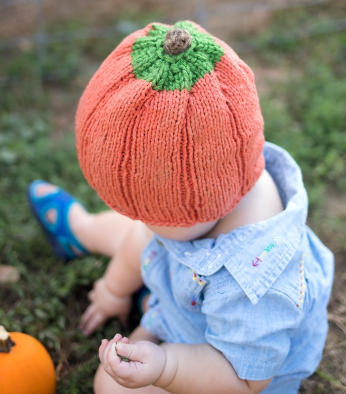 Best-Baby-Pumpkin-Hat-Knitting-Pattern-Easy-Adorable-8