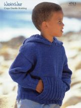 Childs-Hooded-Sweater-Knitting-Pattern-11-161x215