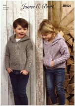 Childs-Hooded-Sweater-Knitting-Pattern-14-152x215