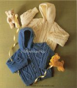 Childs-Hooded-Sweater-Knitting-Pattern-2-158x180