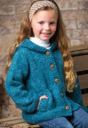 Childs-Hooded-Sweater-Knitting-Pattern-5-181x261