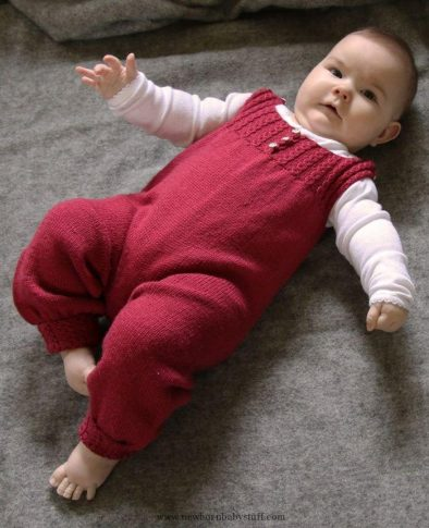 Knitted-Baby-Rompers-Pattern-7-394x485