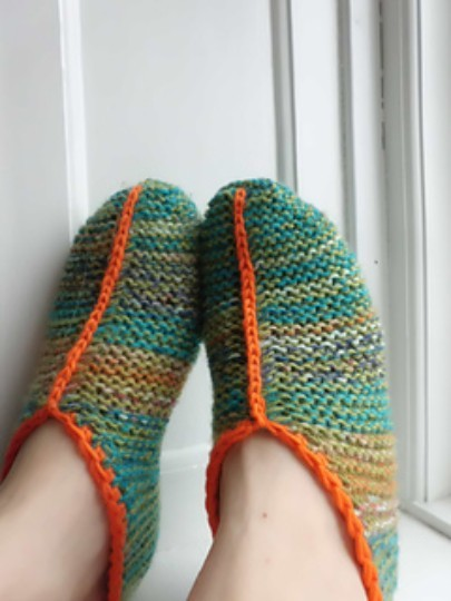 Origami-Slippers-Knitting-Pattern-1