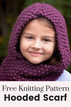 Best-20Knitted-Hooded-Scarf-Pattern-16-295x442