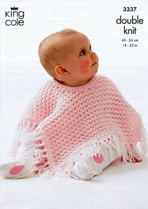 Best-25-Baby-Poncho-Knitting-Pattern-3-290x409