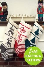 Best-25-Knitted-Patterns-for-Christmas-Stockings-20-149x223