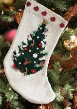 Best-25-Knitted-Patterns-for-Christmas-Stockings-21-158x223
