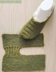 Do-it-Yourself-Knitted-Slippers-Free-Pattern-5-196x251