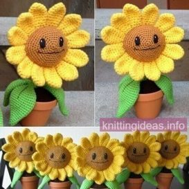 New-Free-Sunflower-Amigurumi-Crochet-Patterns-2-273x273