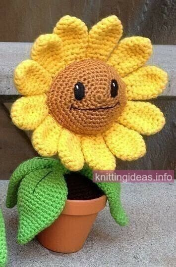 New-Free-Sunflower-Amigurumi-Crochet-Patterns-8